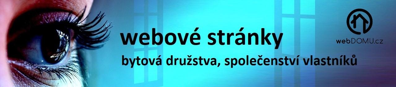 webové stránky pro družstva a společenství vlastníků SVJ